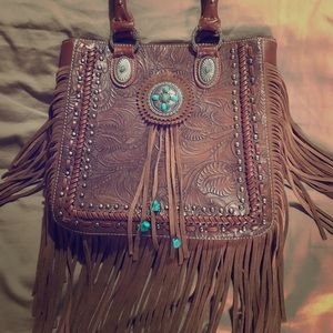 Beautiful Trinity Ranch handbag only used once,